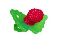 RaZbaby RaZberry Silicone Hands Free Teether