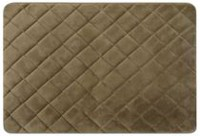 Mainstays Memory Foam Diamond Rug Brown