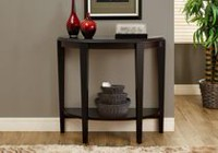 Monarch Specialties Cappuccino Accent Table