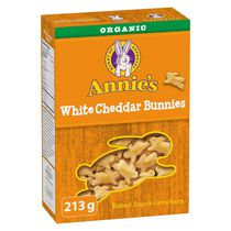 Annie's Homegrown White Cheddar Bunnies Baked Snack Crackers