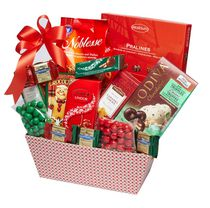 Baskets by On Occasion Holiday Wishes Gift Basket