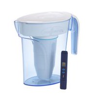 ZeroWater 6 cup Pitcher with Free TDS Light-Up Indicator