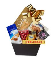 Baskets by On Occasion Sweet Tooth Classic Black Gift Basket