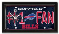 GTEI NFL Buffalo Bills Metal Wall Clock
