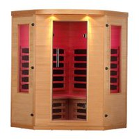 Canadian Spa Co. Aspen 4 Person Far Infrared Corner Sauna