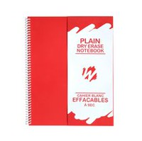 Wipebook Plain Dry Erase Notebook