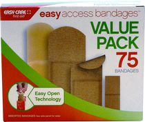 Easy Access Bandages Value Pack - 75 bandages