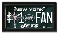 GTEI NFL New York Jets Metal Wall Clock