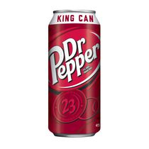 Dr. Pepper 23 King Can Carbonated Soft Drink