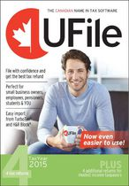 Ufile 4 Dr Tax 2015  Tax Software with 4 Returns
