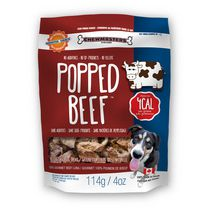 Chewmasters Popped Beef 100% Natural Dog Treats