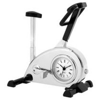 Exercise Bike Collectible Mini Desktop Clock
