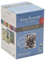 Two Leaves Earl Grey Organic Tea