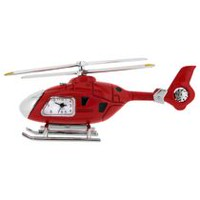Helicopter Collectible Desktop Mini Clock