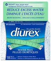 Diurex Water Pills 18ct