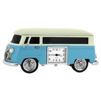 Vintage Camper Van Collectible Desktop Mini Clock