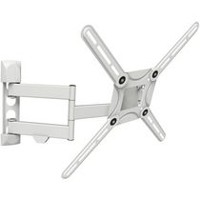 Barkan Curved / Flat Panel Dual Arm Full Motion TV Wall Mount
