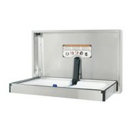 Foundations Horizontal, Surface Mount Full Stainless Steel Baby Changing Station