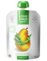 Love Child Organics Gluten Free Puree - Pears, Kale & Peas