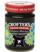 Crofter's Organic Wild Blueberry Premium Fruit Spread