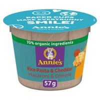 Annie's Homegrown Macaroni & Cheese Gluten Free Rice Pasta & Cheddar
