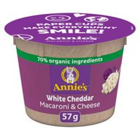 Cheddar blanc Macaroni et fromage d'Annie's Homegrown