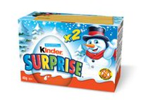 Ferrero Kinder Surprise Chocolate Treat Christmas Box