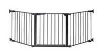 KidCo® Auto Close Configure Gate Black