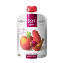 Love Child Organics Apples, Sweet Potatoes, Beets & Cinnamon Pouch