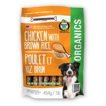 Chewmasters Organic Chicken with Brown Rice Dog Treats