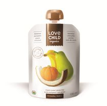 Love Child Organics Super Blends Baby Puree - Pears, Pumpkin, Banana & Coconut