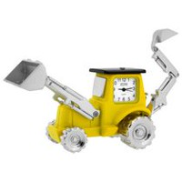 Backhoe Front End Loader Collectible Desktop Mini Clock