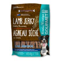Chewmasters Exotic Gourmet Lamb Jerky with Rosemary Dog Treats