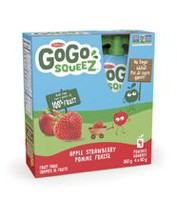 Materne GoGo squeeZ Apple Strawberry Fruit Snack