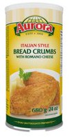 Aurora Italian Style Bread Crumbs with Romano Cheese