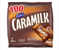 Cadbury Caramilk One Bites Fun Treats Candy