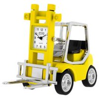 Forklift Collectible Desktop Mini Clock