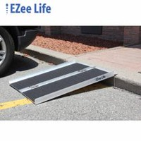 Ezee Life 3' Portable Folding Wheelchair Ramp with Grip Tape