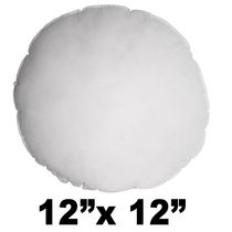 Hometex Round Polyester Fill Pillow Form