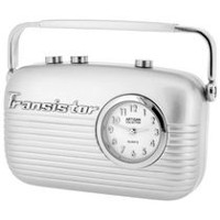 Transistor Radio Collectible Desktop Mini Clock