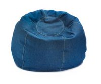 ComfyKids Teen Bean Bag Denim