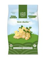 Love Child Organics Cheese and Herb Love Ducks Snacks