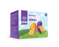 Love Child Organics Gaufrette de dentition multigrains biologique Teefies - mangue et carrotte violette