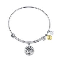 Love This Life Bangle Plated Family