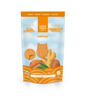 Love Child Organics Owlies Organic Spelt Cookies - Ginger & Sweet Potato