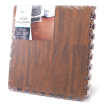 Mainstays Interlocking Wood Foam Mat