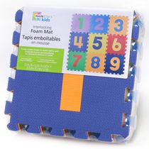 Mainstays Kids Interlocking Numbers Foam Mat
