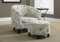 Monarch Specialties Vintage French Accent Chairs