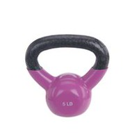 Sunny Health & Fitness Vinyl Coated Kettle Bell Pink