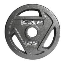 Cap Barbell 2-Inch Olympic Grip Plate, 25 lbs